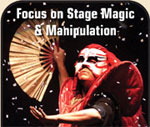 Focus on: Platform and Parlor Magic - Jeff McBride
