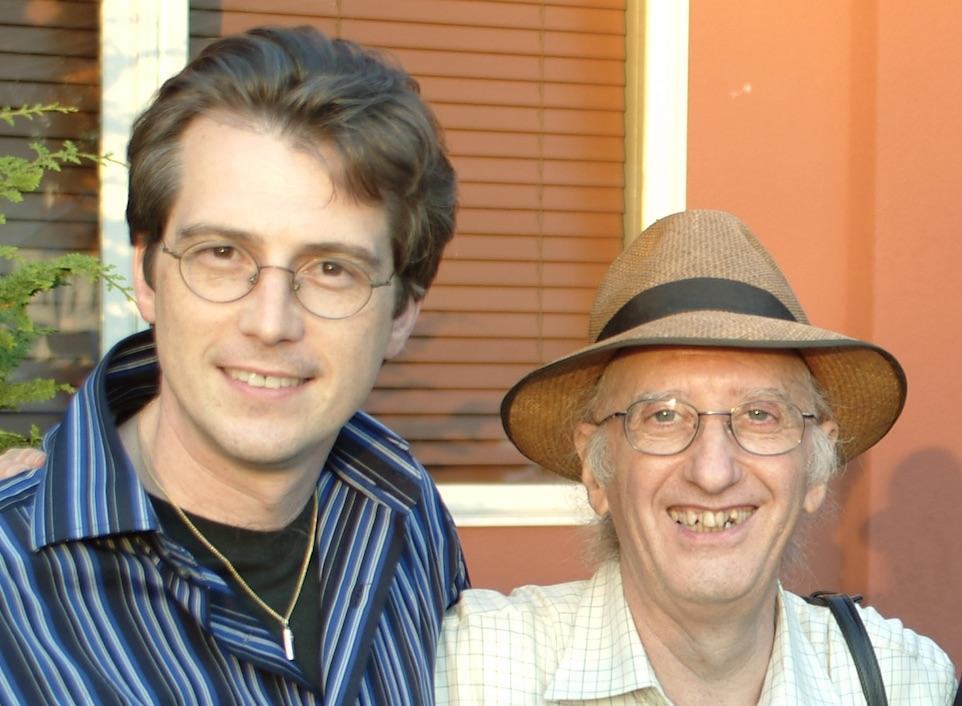 Larry Hass with Juan Tamariz
